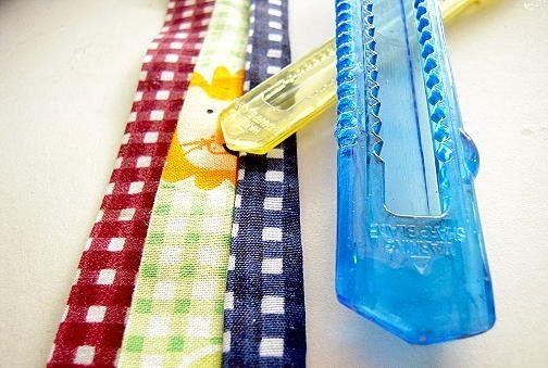 bias binding goods textile make