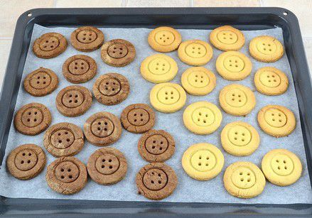 buttons recipe diy inspiration delicious cooking tasty creativeidea cookies dough buttoncookies cutecookies