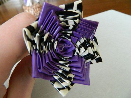 tape flowers duct lesson gradually