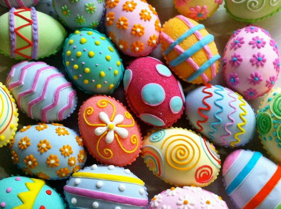 make holidays beaded easter eggs