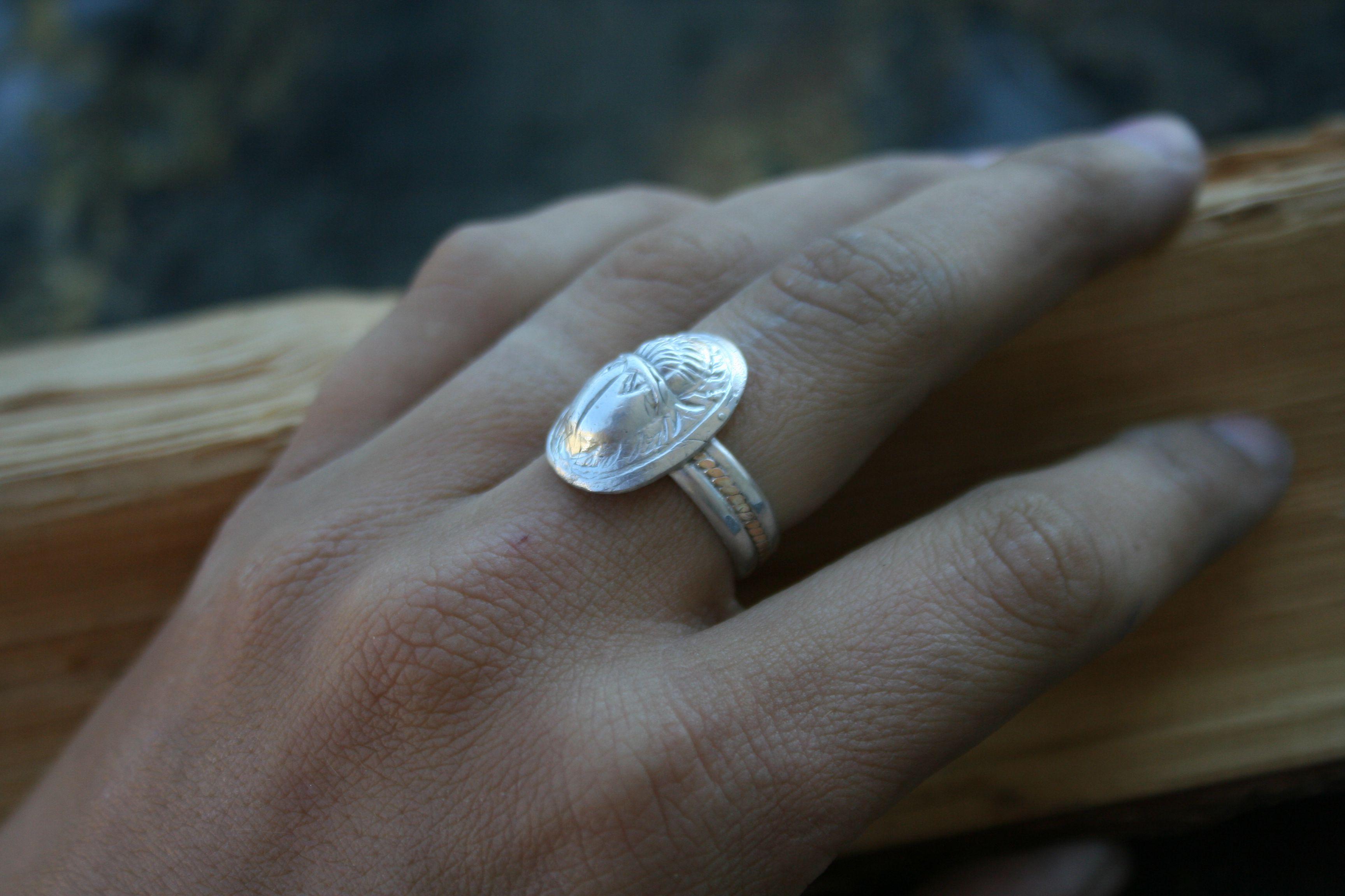 beetles boho silverrings rings size8ring 14kg egyptian egyptianring cleopatra scarabjewelry scarabs animaljewelry handmade gold silver bohochic