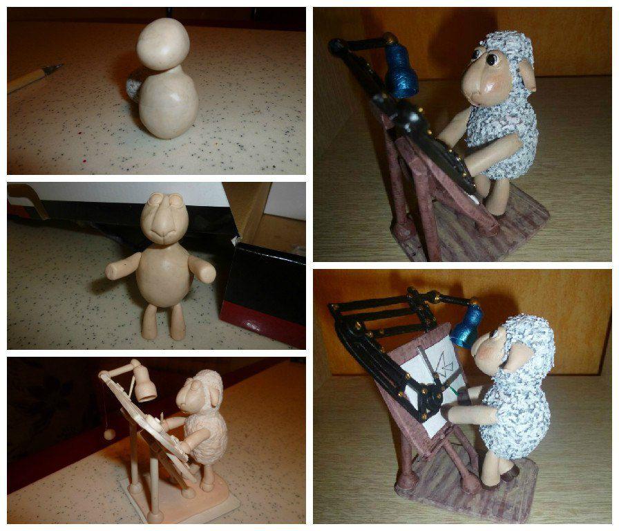 toy interior kids sheep architect