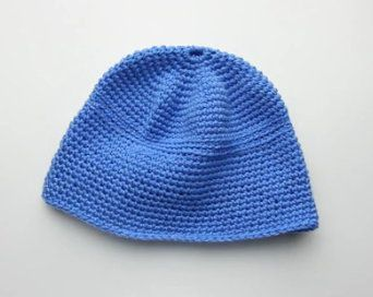 instruction textile crochet beanie goods