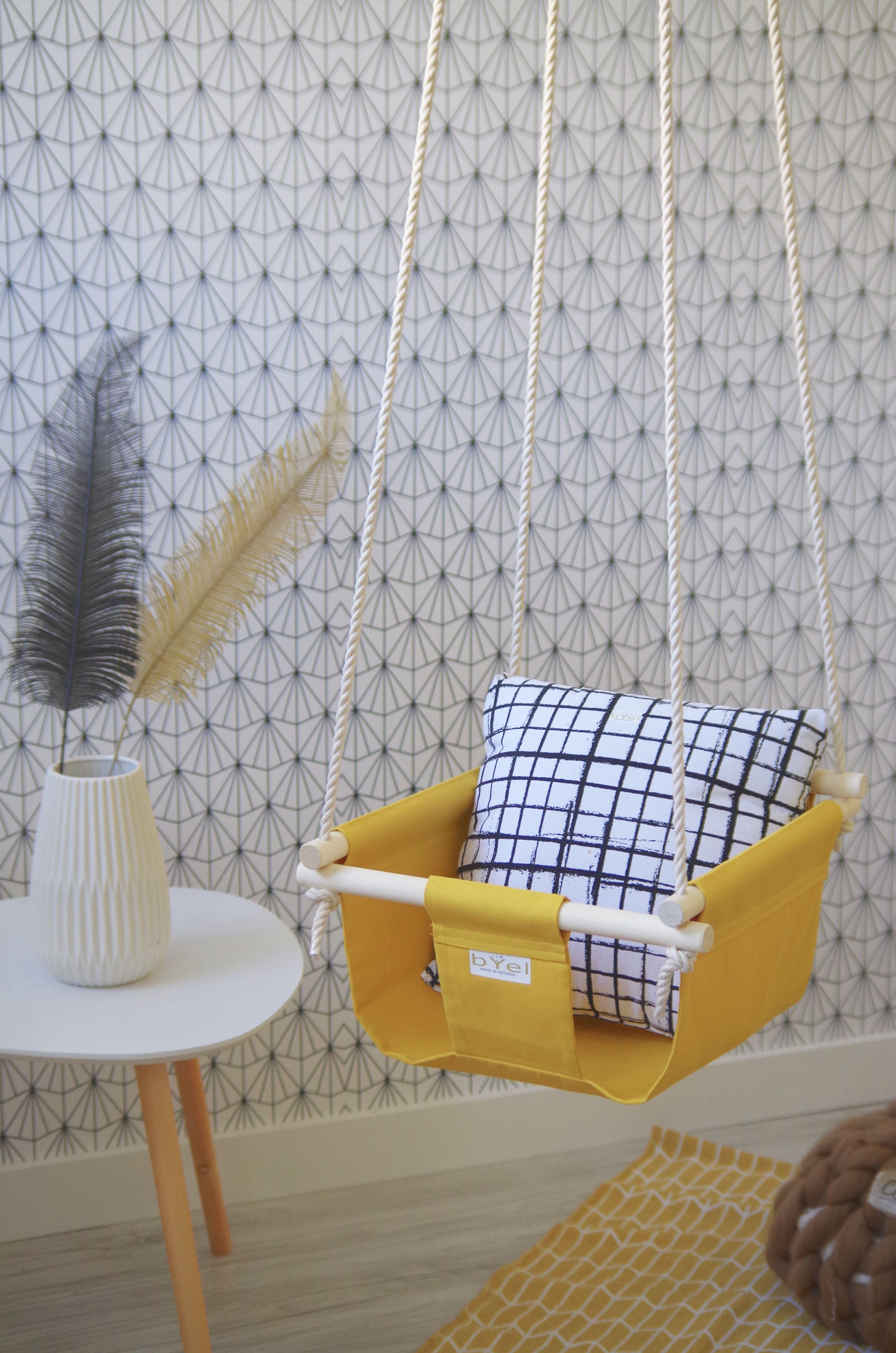 birthday baby decor gift present boho swing indoor nursery first shower fun chair