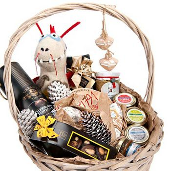 make gift decorating content basket