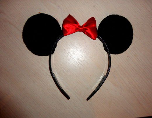 mickey ears mouse headband accessory