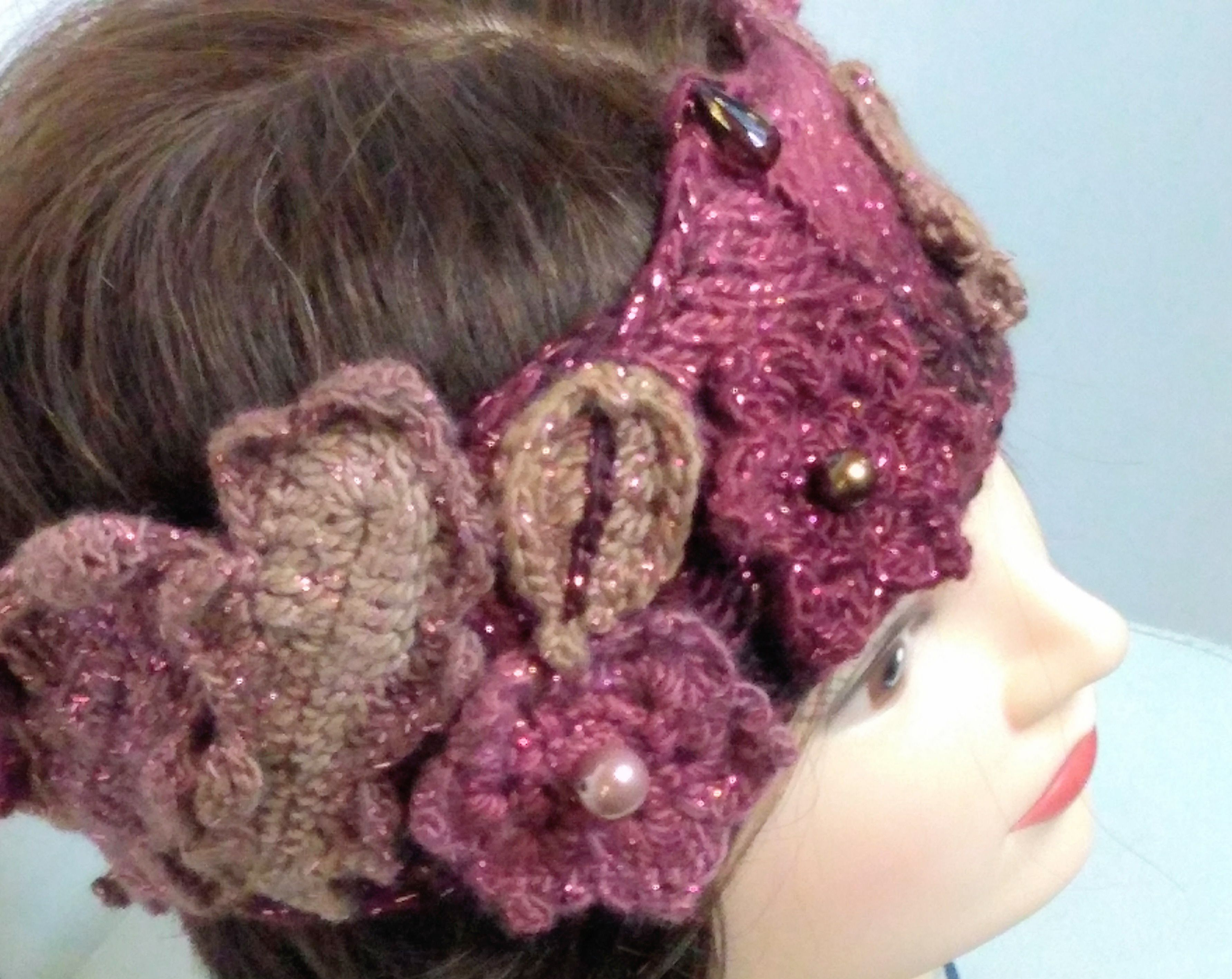 autumn birthday woodland colour headgear gift elfin present christmas headband