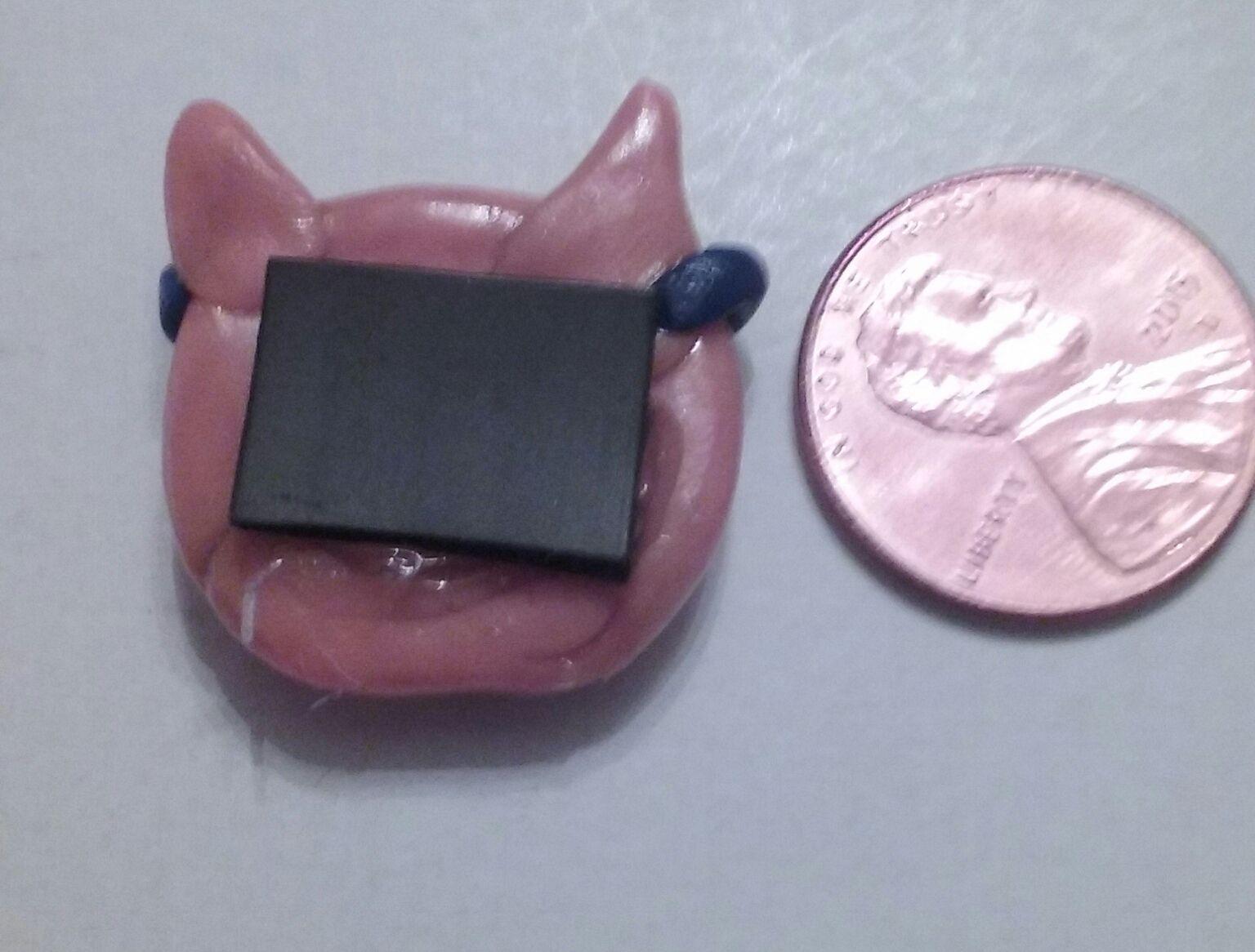 cat magnet chibi adorable polymerclay summer animal clay kawaii sunglasses