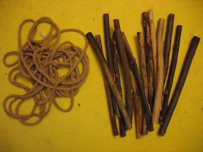 rope wood nodes manufacturer ladder