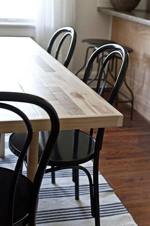 project desk wood make table