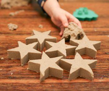 kinetic structure make unusual sand