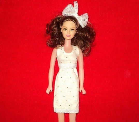 make barbie toy clothes children