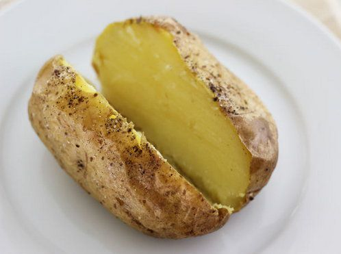 cookery cook baked potatoes recipe