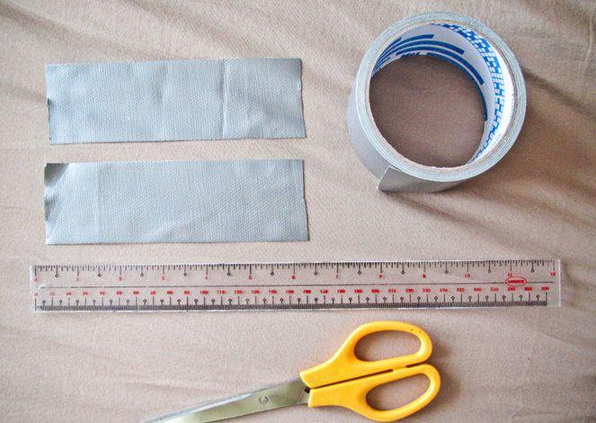 scotch tape bows duct make