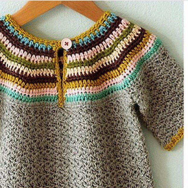 striped pullover knitted choldren