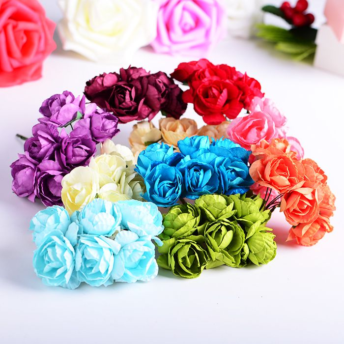 handmadegift paperflowers abbihome diybouquet
