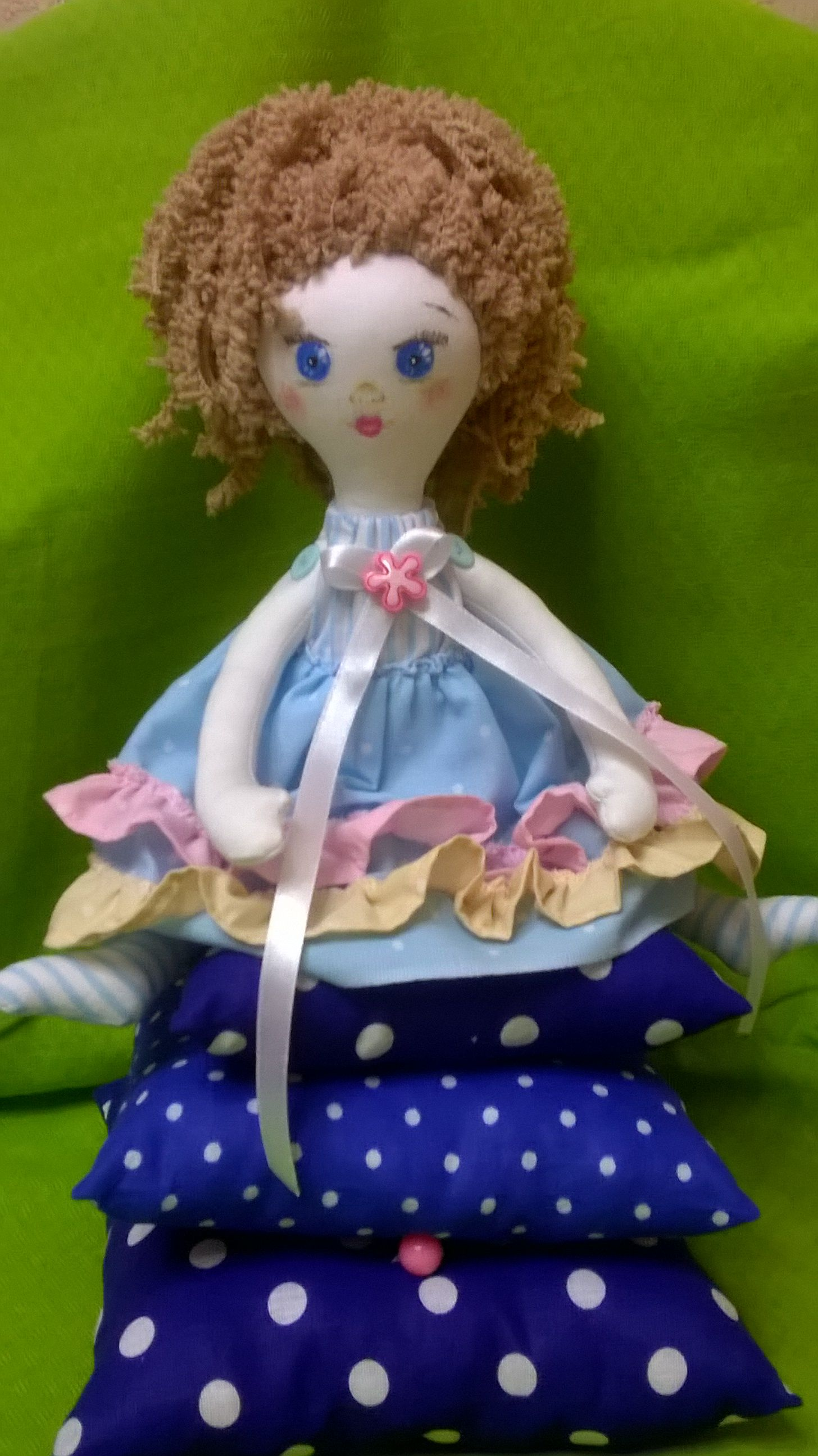 toy textile fairytale princess