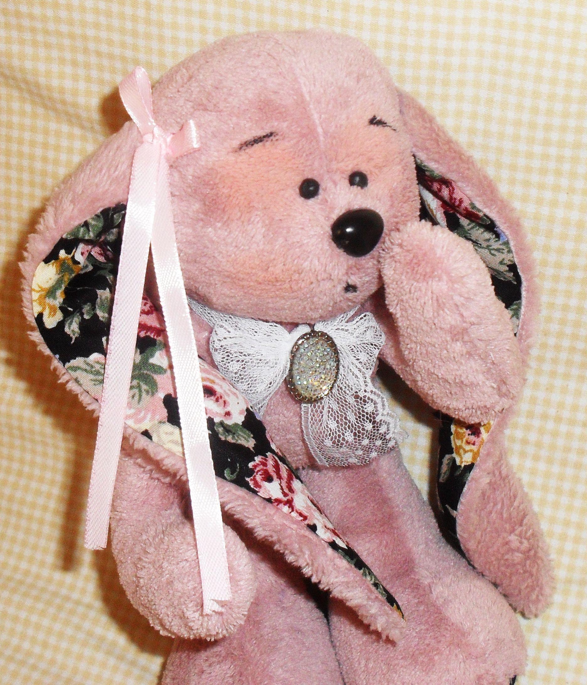 toy bear kids pink