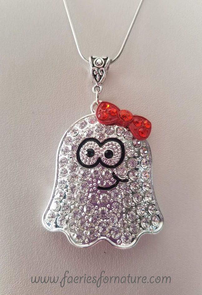 halloween cute pendant necklace jewelry charm monster fantasy necklaces kawaii horror ghost high