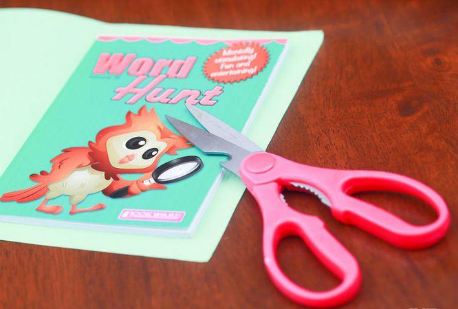 cover bag book paper make
