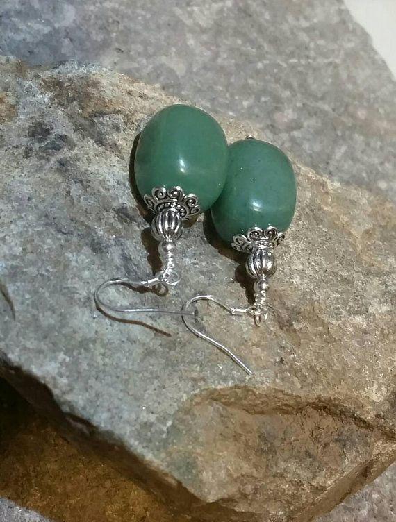 bridalearrings giftsforher dangleearrings green mothersday sterlingsilver earrings easter aventurine