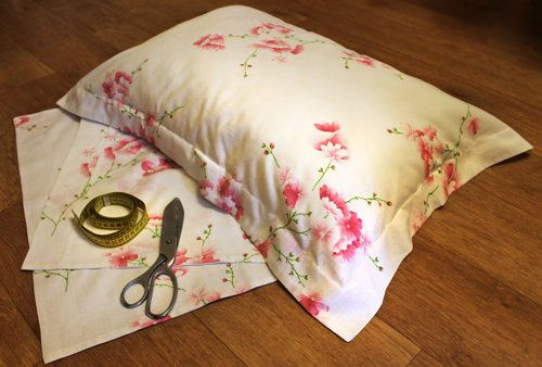 fabric size pillow covers make