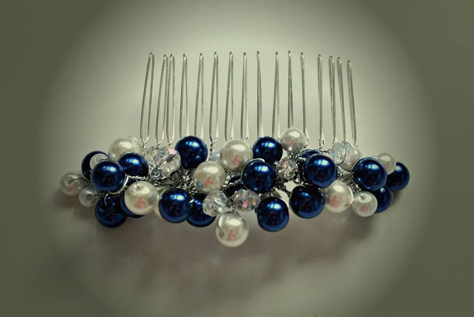 pearls wedding hairaccessorie haircomb hairpiece