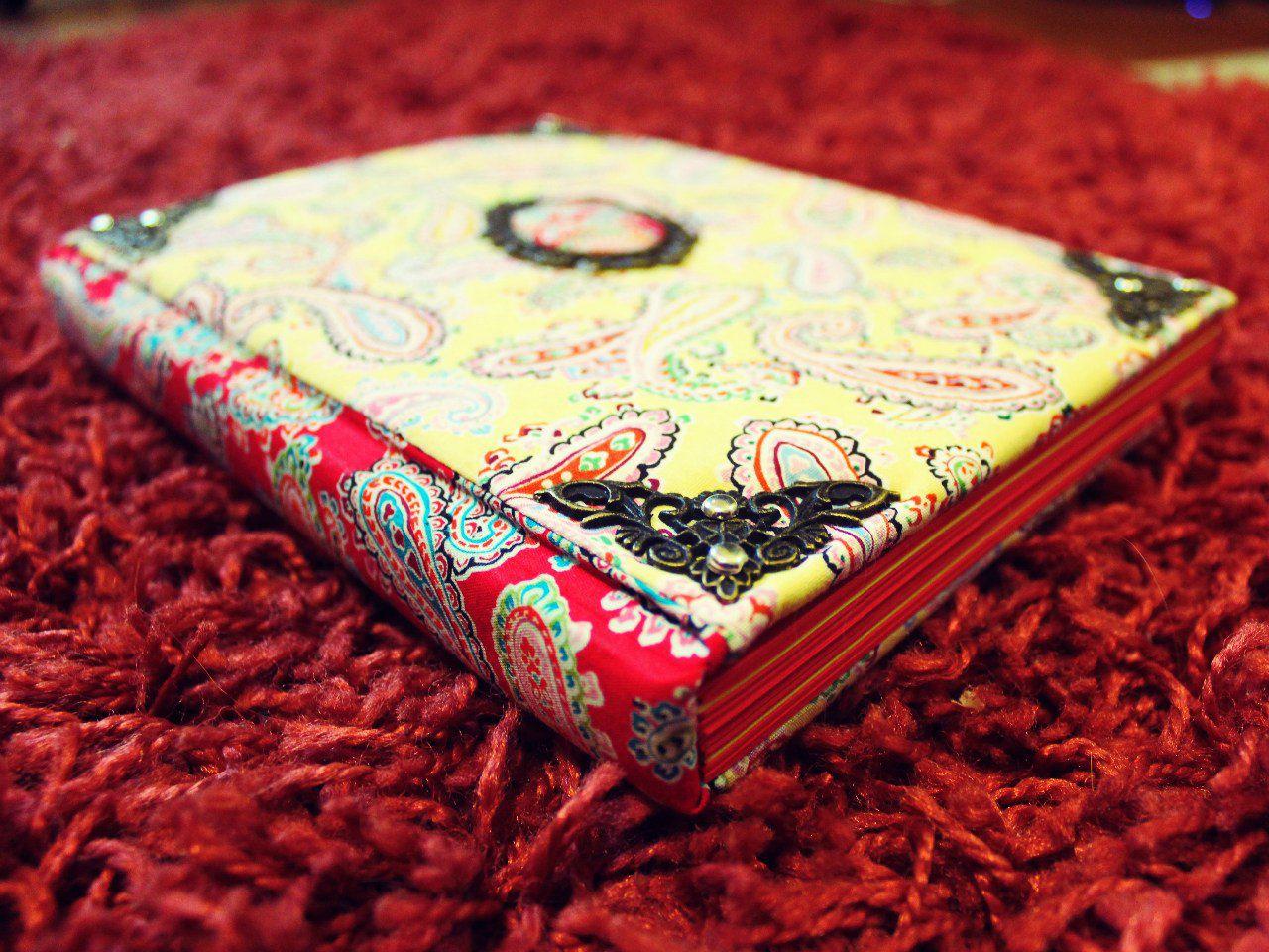 notebook soft girls fabric