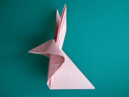 bunny crafts hare origami animal paper