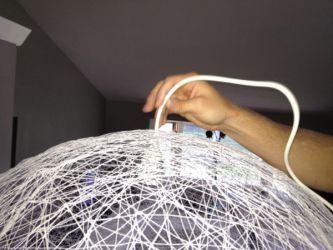 lampshade chandelier lamp threads balloon