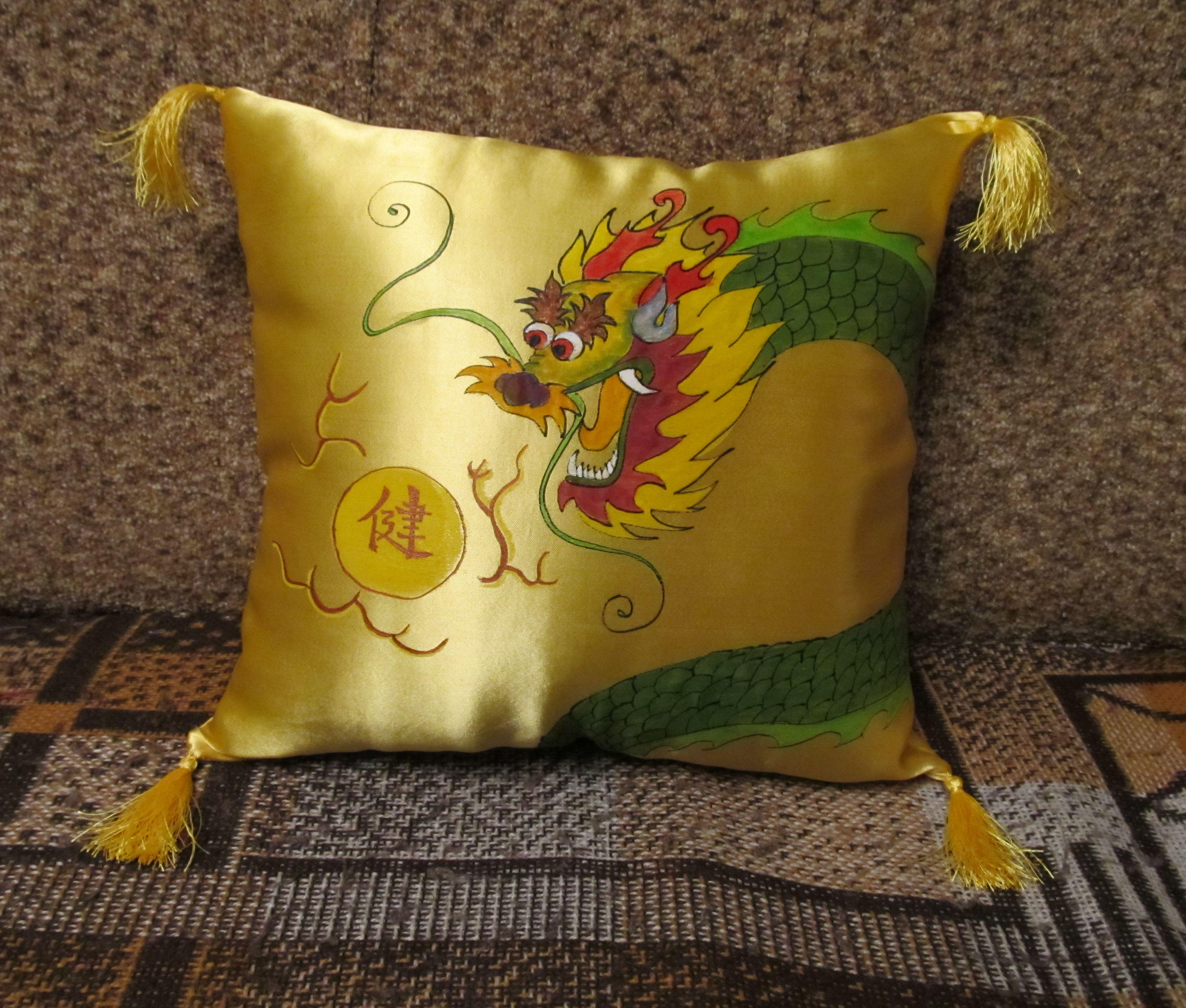 dragon decor interior pillow china