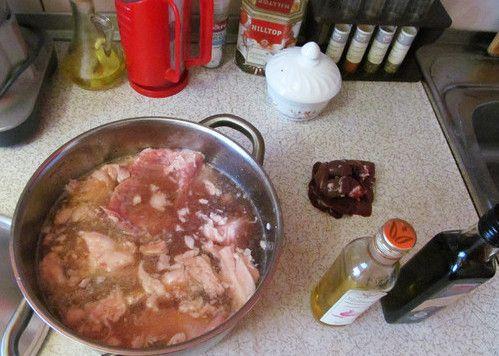 cookery rabbit cook ingredients recipe