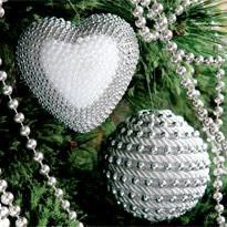 ornaments make heart accessories ball