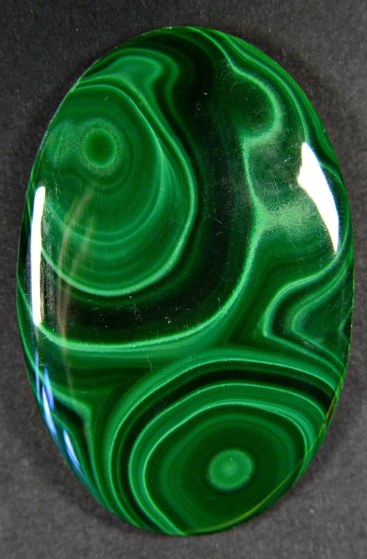 natural cabochon jasper quartz malachite