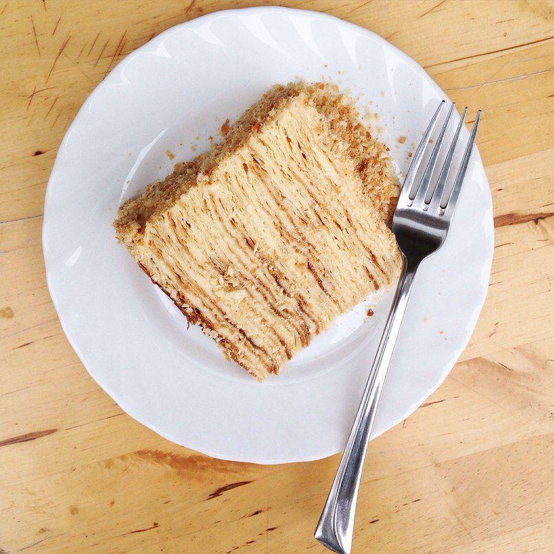 cake millefeuille yummy handmade
