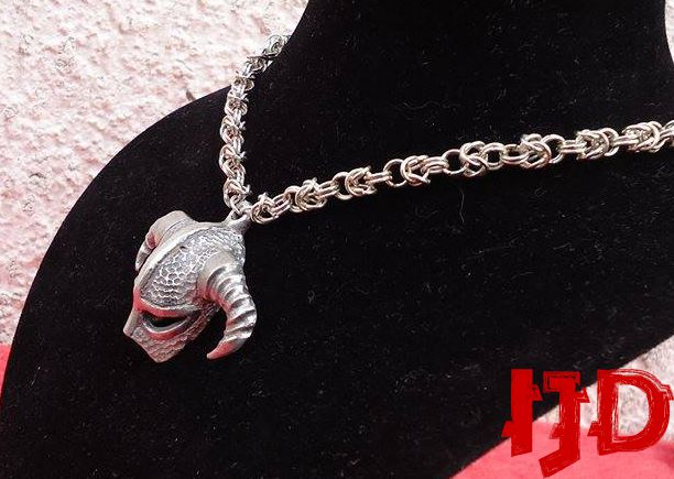 necklace jewelry helmet chainmail medallion viking skyrim warrior vikings
