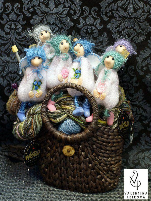handmade gift angel christmas dolls