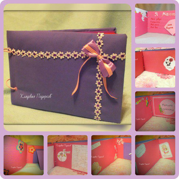 gift album paper wedding photo
