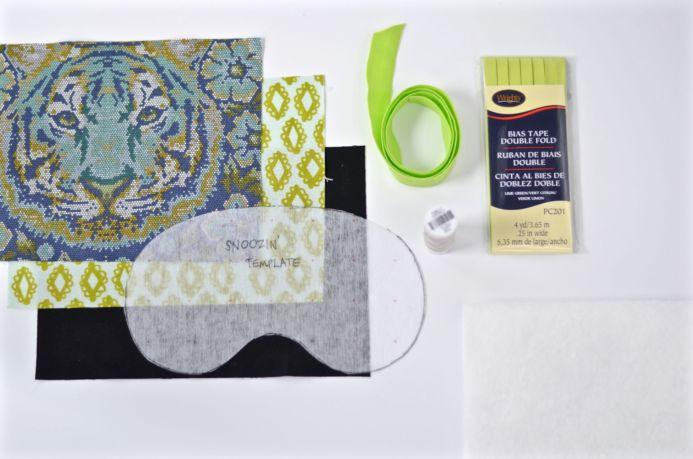 project sewing sleep travel idea handmade comfortable mask