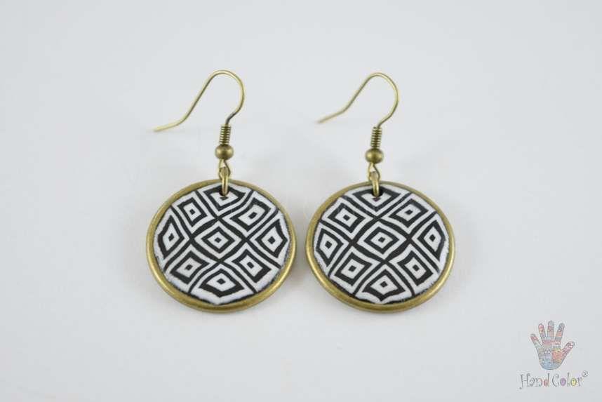 tradition accessories fashion portuguese montanhac original round handcraft jewelry jewellery beauty handmade polymer clay bijouterie