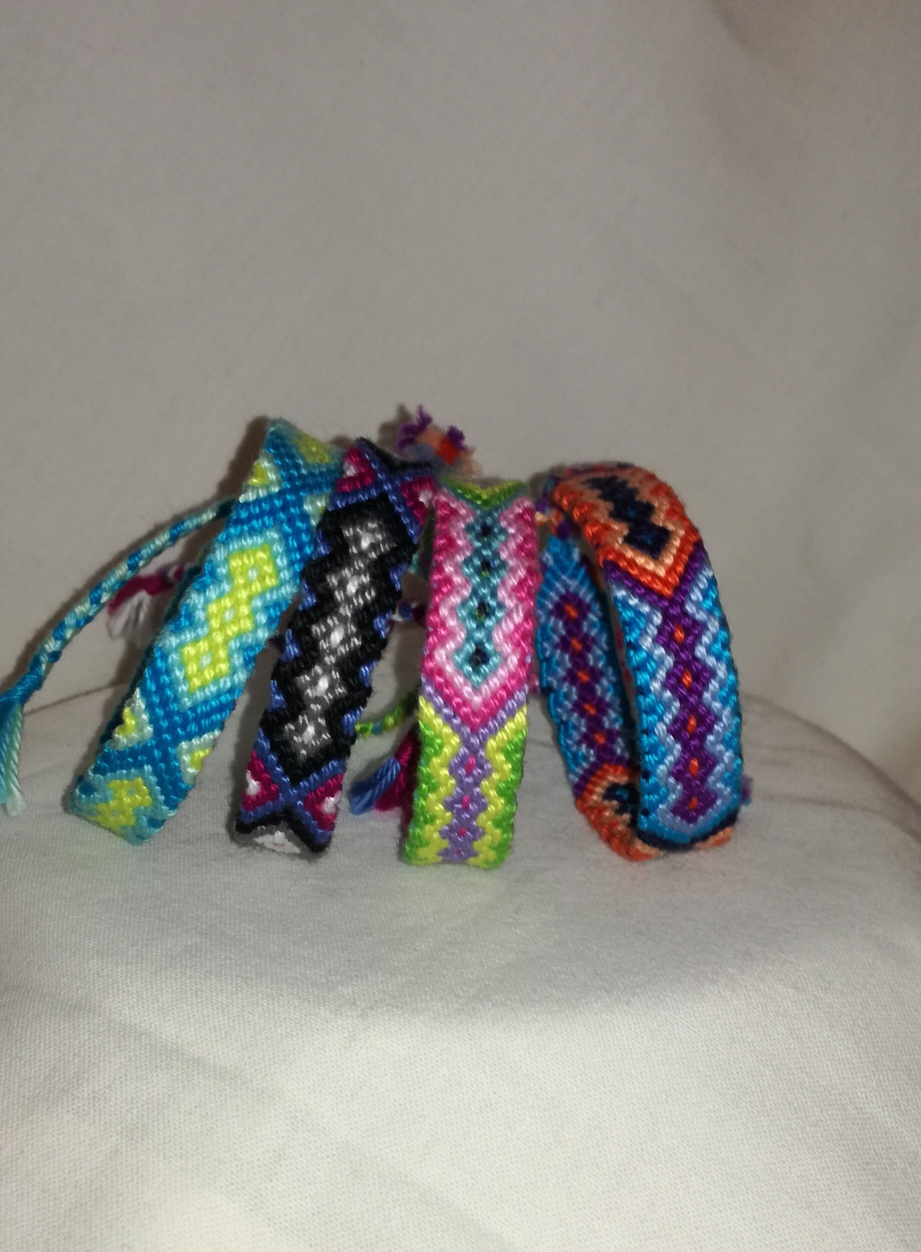 handwoven the gift tie friendship tribal jewelry bracelet woven knot everyday string for art