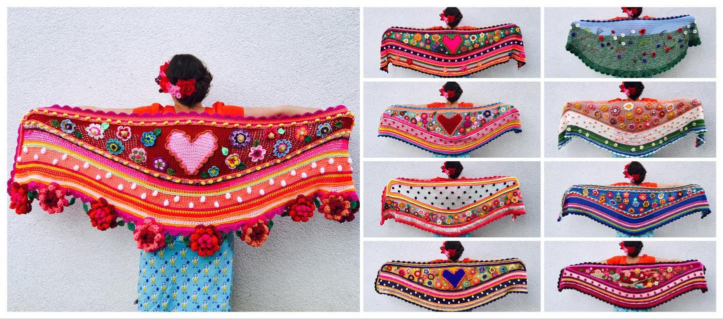 workshop wrap crochet