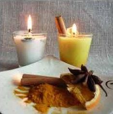 make soy wax candles homemade