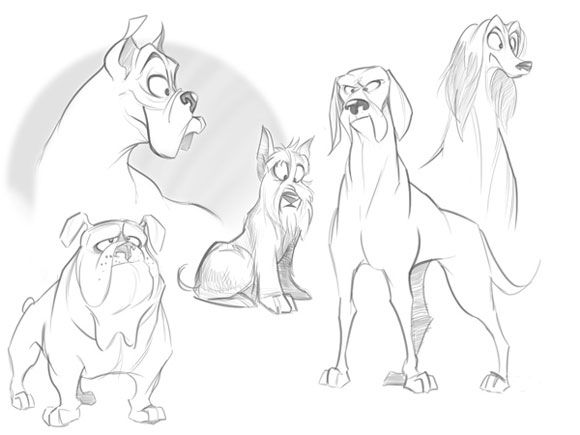 animals draw kids base cartoon art