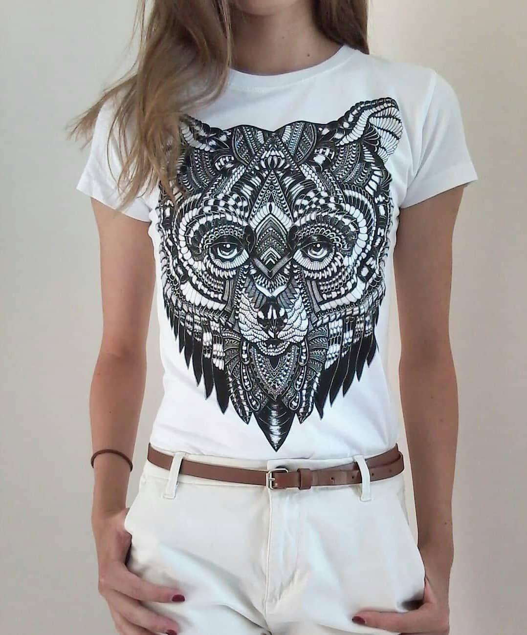 grizzli latvian hipster animal bear print tshirt design art