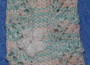 goods textile knit warmers leg