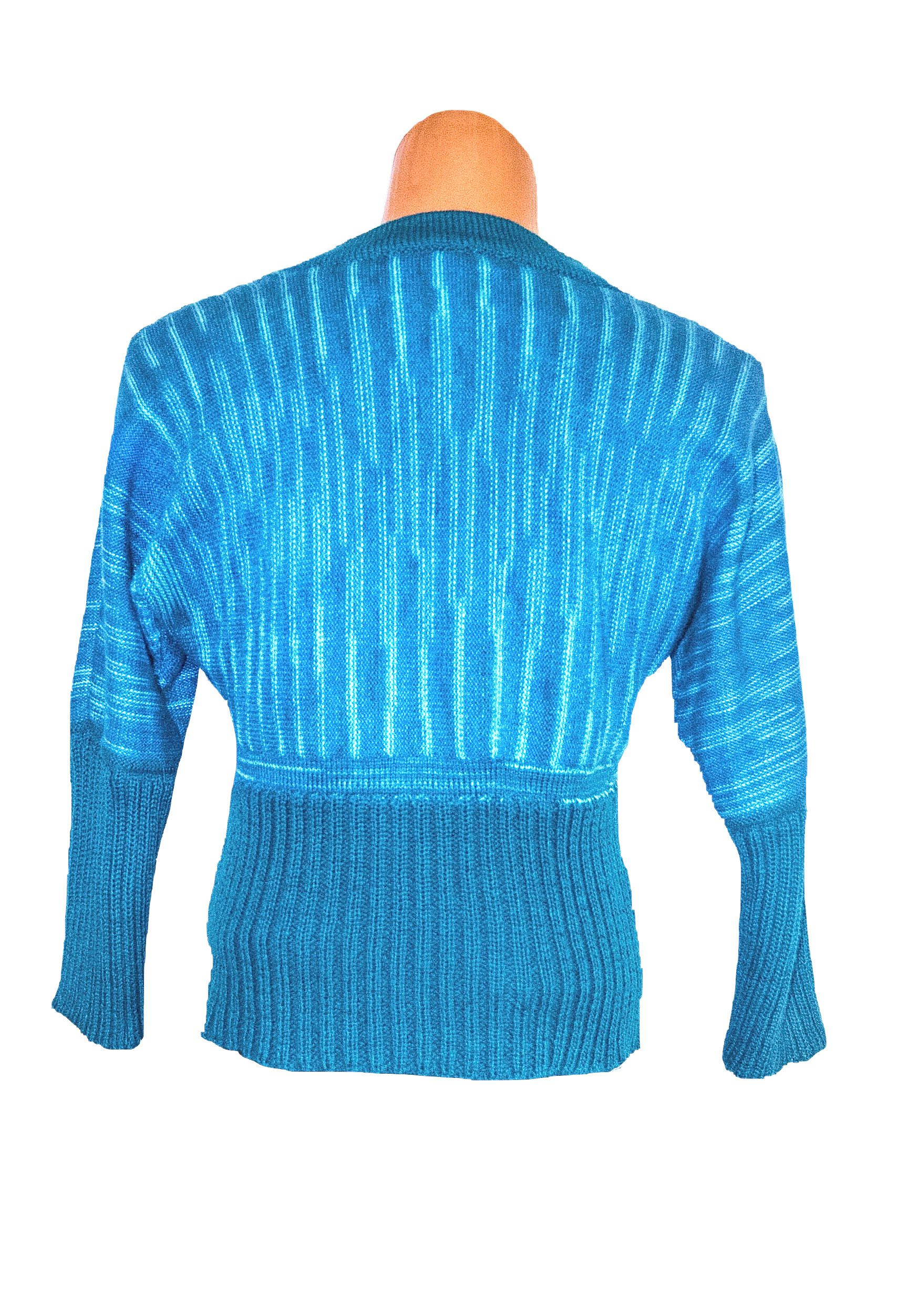 striped knitted jumper woman