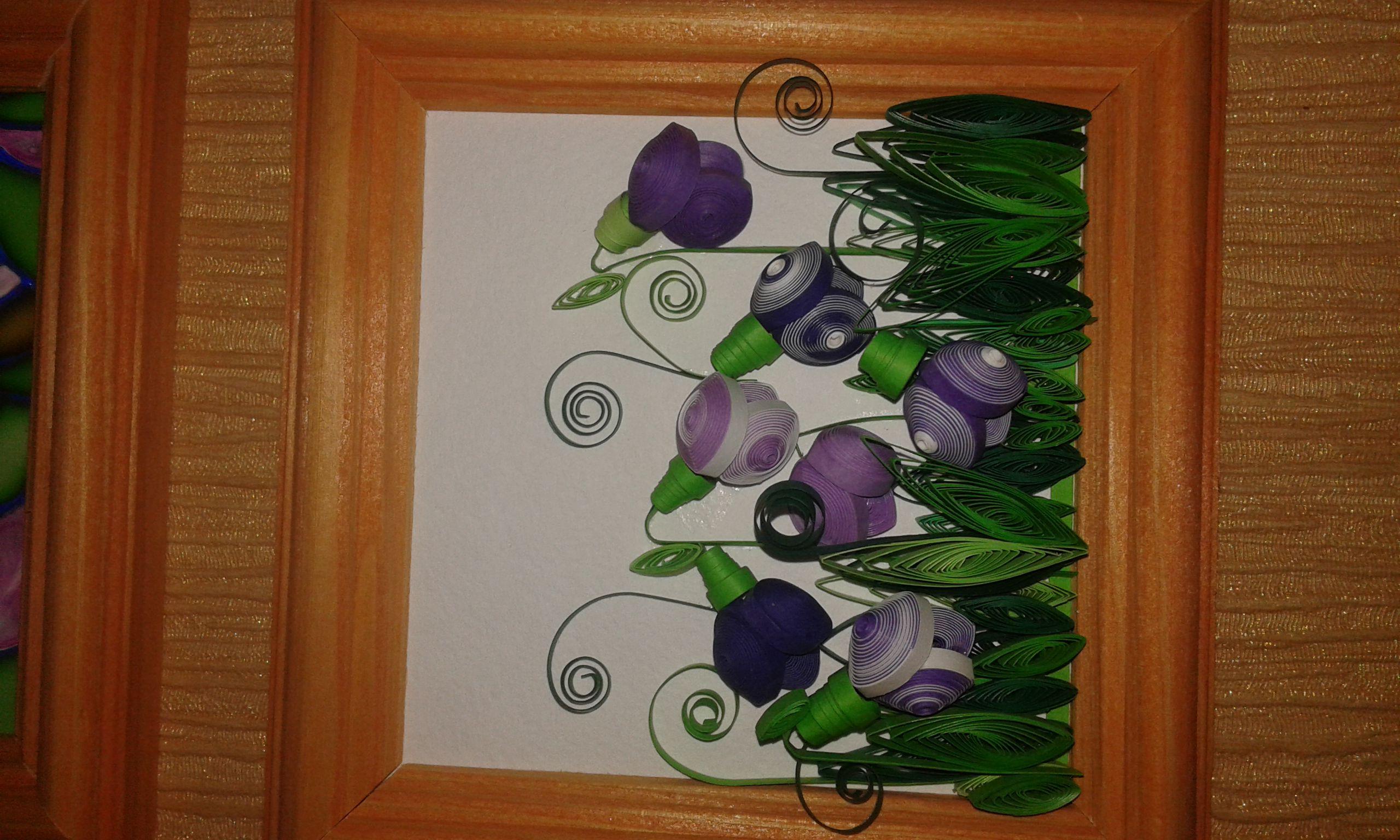 picture interior roses quilling