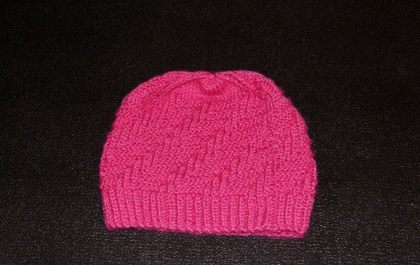 textile hat loops knit goods