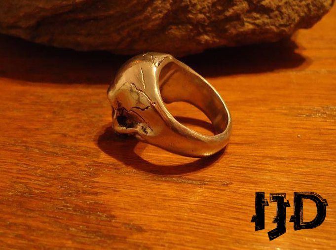 vampire wiccan viking rings skull black jewelry dark metal pagan ring gothic